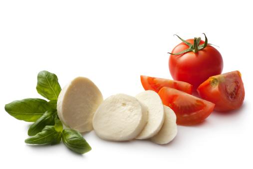 イタリア料理「イタリア素材:カプレーゼサラダ」:スマホ壁紙(3)