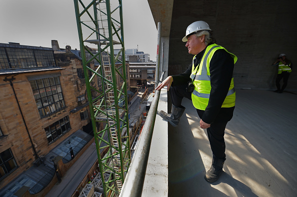 50 Meter「Topping Out Of The New £50m Glasgow School of Art Building」:写真・画像(10)[壁紙.com]