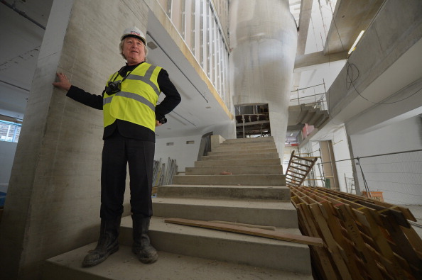 50 Meter「Topping Out Of The New £50m Glasgow School of Art Building」:写真・画像(11)[壁紙.com]