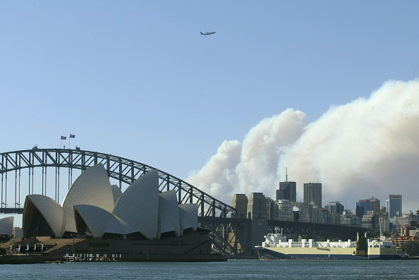 Sydney「Bushfires blaze around Sydney」:写真・画像(6)[壁紙.com]