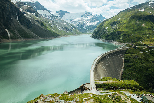 Austria「Germany, Salzburg State, Zell am See District, Mooserboden dam」:スマホ壁紙(14)
