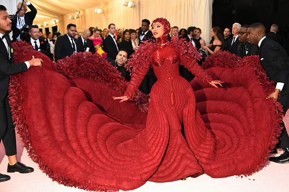 Met Costume Institute Benefit Gala「Cardi B At The Met Gala」:写真・画像(2)[壁紙.com]