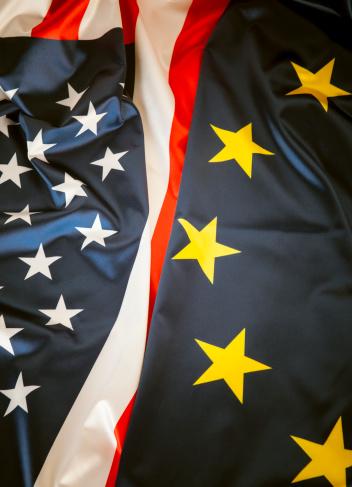 Rivalry「US - EU flag」:スマホ壁紙(17)
