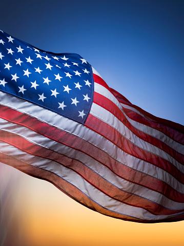 Moody Sky「USA Flag」:スマホ壁紙(12)