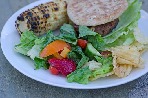 Veggie Burger「Vegan Burger Plate」:スマホ壁紙(9)