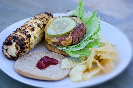 Veggie Burger「Vegan Burger Plate」:スマホ壁紙(11)