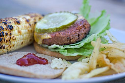 Veggie Burger「Vegan Burger Plate」:スマホ壁紙(17)