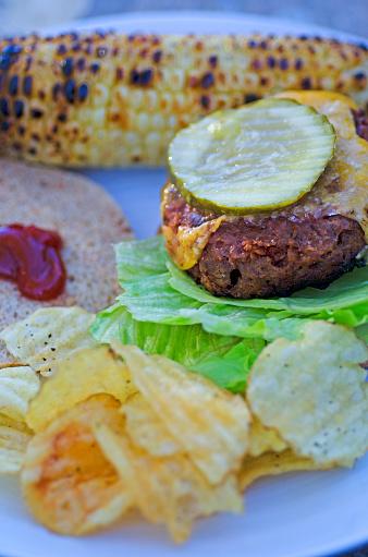 Veggie Burger「Vegan Burger Plate」:スマホ壁紙(7)