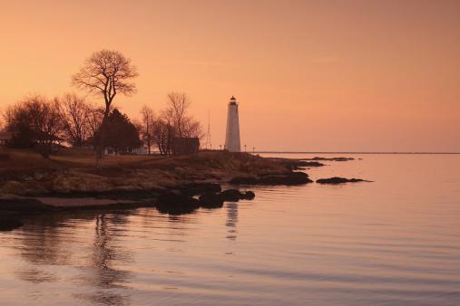 Beacon「Five Mile Lighthouse, New Haven, Connecticut」:スマホ壁紙(18)