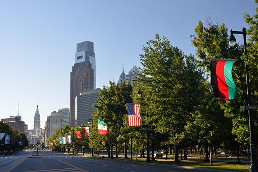 Boulevard「Ben Franklin Parkway in Philadelphia」:スマホ壁紙(11)