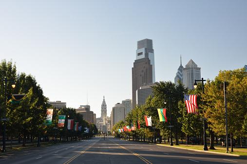 Boulevard「Ben Franklin Parkway in Philadelphia」:スマホ壁紙(17)