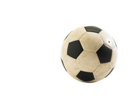 スポーツ「Soccer ball on white background」:スマホ壁紙(0)