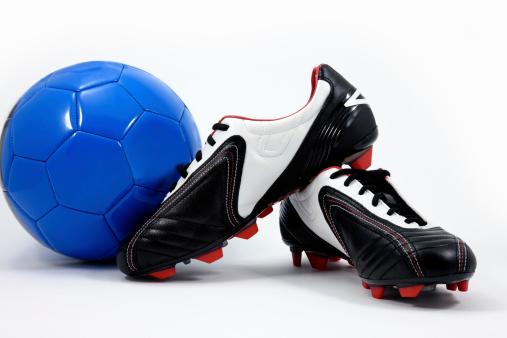 Shoe「Soccer ball and cleats」:スマホ壁紙(0)