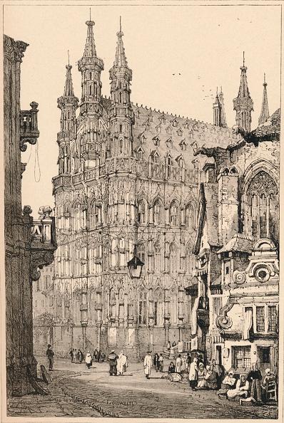 Non-Urban Scene「'Louvain', C1820 (1915)」:写真・画像(4)[壁紙.com]