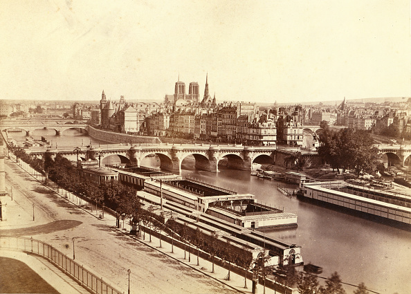 Seine River「Panorama De La Cit�」:写真・画像(12)[壁紙.com]