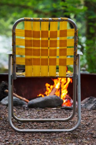 Camping Chair「Camping in the Pacific Northwest」:スマホ壁紙(19)
