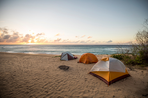 Tent「Camping in the sand.」:スマホ壁紙(15)
