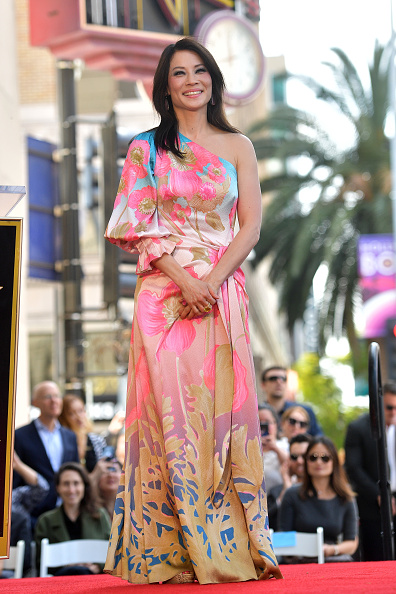 Multi Colored「Lucy Liu Honored With Star On The Hollywood Walk Of Fame」:写真・画像(13)[壁紙.com]