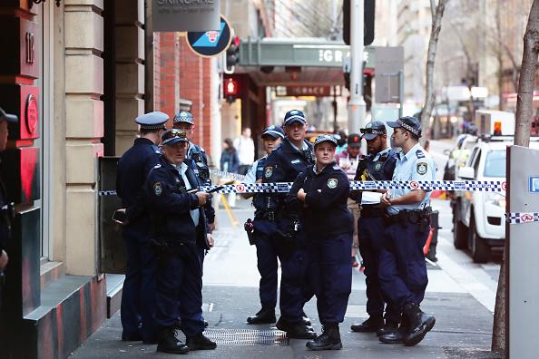 Sydney「Sydney CBD In Lockdown Following Stabbing Attack」:写真・画像(18)[壁紙.com]