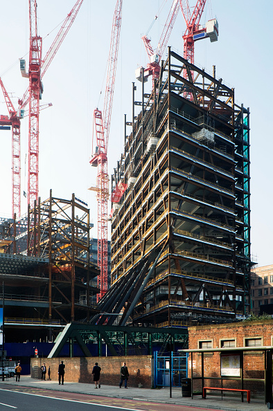 Urban Skyline「Early stages of construction of Broadgate Tower, London, UK」:写真・画像(5)[壁紙.com]