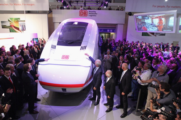 Transport Minister「Innotrans 2012 Railway Trade Fair」:写真・画像(14)[壁紙.com]