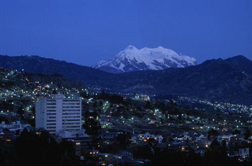Bolivian Andes「La Paz」:スマホ壁紙(12)