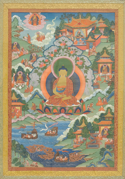 Tanka「Thanka With Buddha」:写真・画像(4)[壁紙.com]