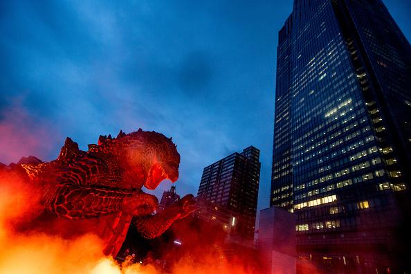 """2014 movie GODZILLA Godzilla「""""MIDTOWN Meets GODZILLA"""" Show Opens In Tokyo」:写真・画像(8)[壁紙.com]"""