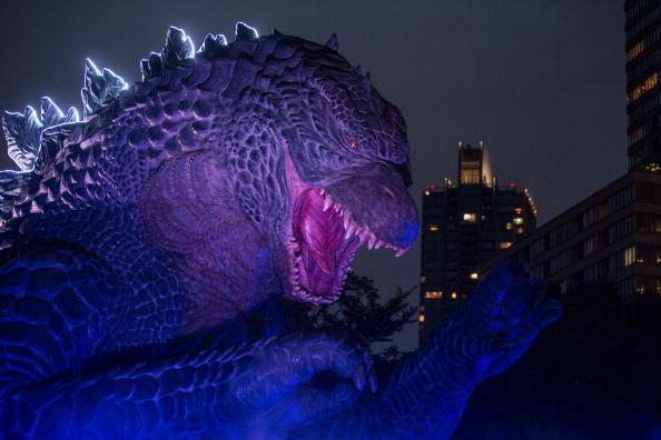 """2014 movie GODZILLA Godzilla「""""MIDTOWN Meets GODZILLA"""" Show Opens In Tokyo」:写真・画像(12)[壁紙.com]"""