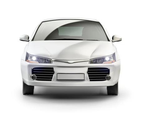 Generic - Description「Modern compact car in studio.」:スマホ壁紙(13)