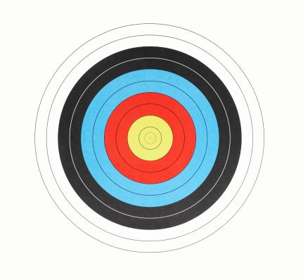 Sports Target「bullseye target」:スマホ壁紙(17)