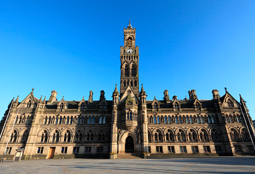 Local Government Building「Bradford Town Hall」:スマホ壁紙(6)