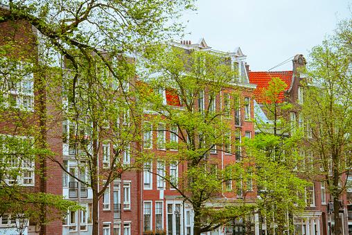 Amsterdam「Facades in Amsterdam」:スマホ壁紙(11)
