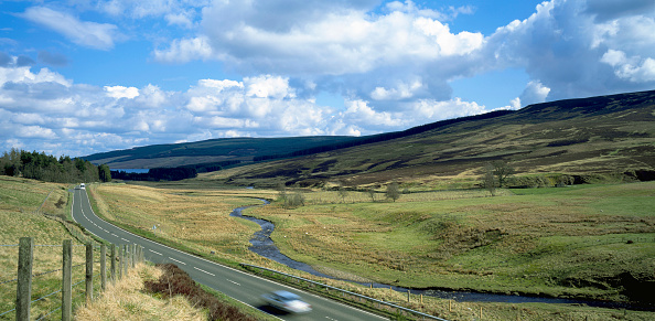 Motor Vehicle「Cheviot Hills, The Borders between England and Scotland, United Kingdom」:写真・画像(11)[壁紙.com]