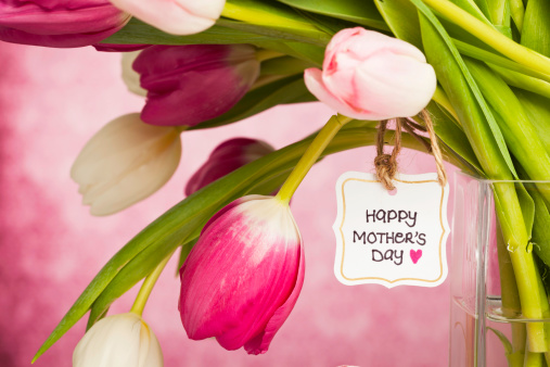 Mother's Day「Spring Tulips for Mother's Day」:スマホ壁紙(9)