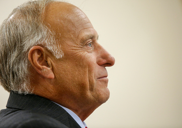 Politician「Republican Rep. Steve King Holds Town Hall Meeting In Boone, Iowa」:写真・画像(9)[壁紙.com]