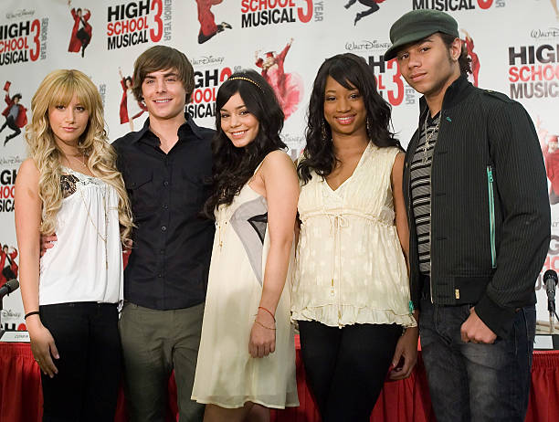 """High School Musical 3: Senior Year"" Press Conference:ニュース(壁紙.com)"