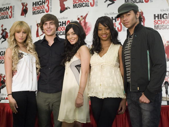 "High School Musical「""High School Musical 3: Senior Year"" Press Conference」:写真・画像(4)[壁紙.com]"