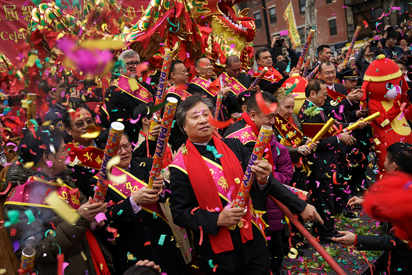 New York City「New York's Chinatown Marks First Day Of The Lunar New Year」:写真・画像(12)[壁紙.com]