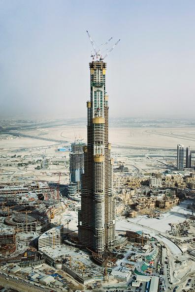 Construction Industry「Burj Dubai Dubai, United Arab Emirates, May 2007.」:写真・画像(12)[壁紙.com]
