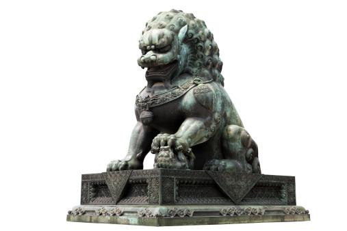Regency Style「Chinese lion sculpture」:スマホ壁紙(19)