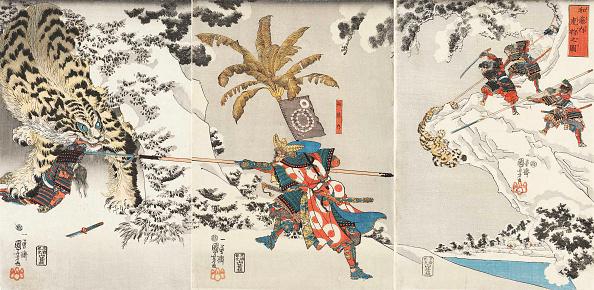 Cultures「Koxinga Hunting The Tiger (Watonai Tora-Gari No Zu)」:写真・画像(5)[壁紙.com]