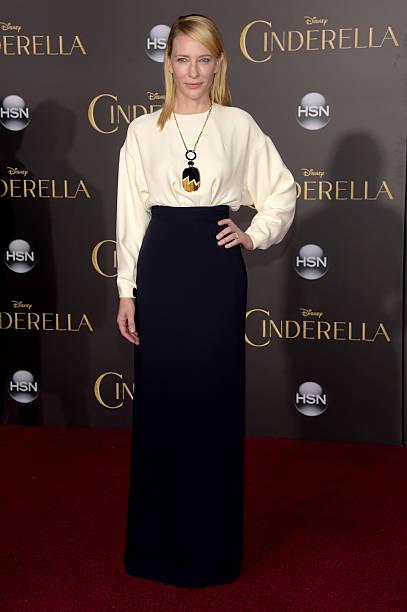 "Premiere Of Disney's ""Cinderella"" - Arrivals:ニュース(壁紙.com)"