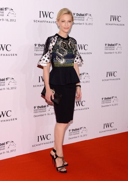 Peplum「2012 Dubai International Film Festival and IWC Filmmaker Award - Red Carpet Arrivals」:写真・画像(15)[壁紙.com]