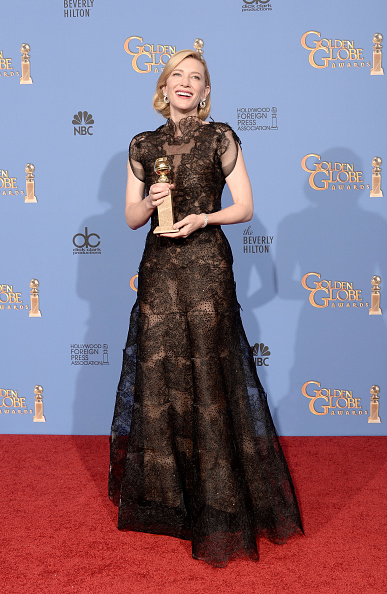 Giorgio Armani Prive「71st Annual Golden Globe Awards - Press Room」:写真・画像(18)[壁紙.com]