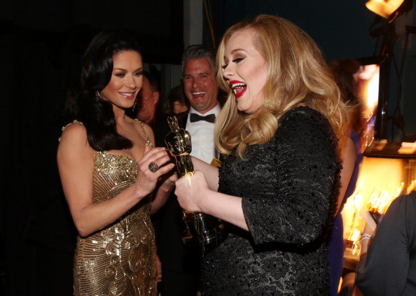 Adele - Singer「85th Annual Academy Awards - Backstage」:写真・画像(14)[壁紙.com]
