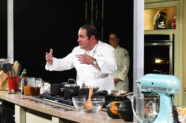 Larry Busacca「Grand Tasting Presented By ShopRite Featuring KitchenAid® Culinary Demonstrations Presented By MasterCard - Food Network New York City Wine & Food Festival Presented By FOOD & WINE」:写真・画像(11)[壁紙.com]