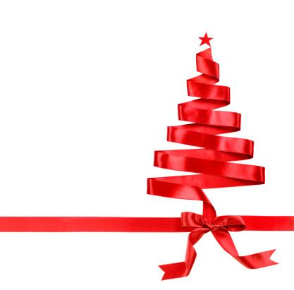 National Holiday「Ribbon christmas tree」:スマホ壁紙(11)