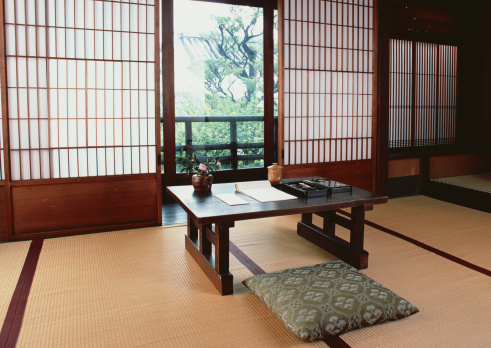 京都市「Image of a Japanese room and table」:スマホ壁紙(12)