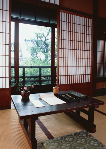 京都市「Image of a Japanese room and table」:スマホ壁紙(14)